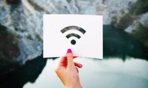 wifi connessione aperto