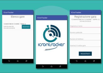 Realizzazione App Android Icrontracker