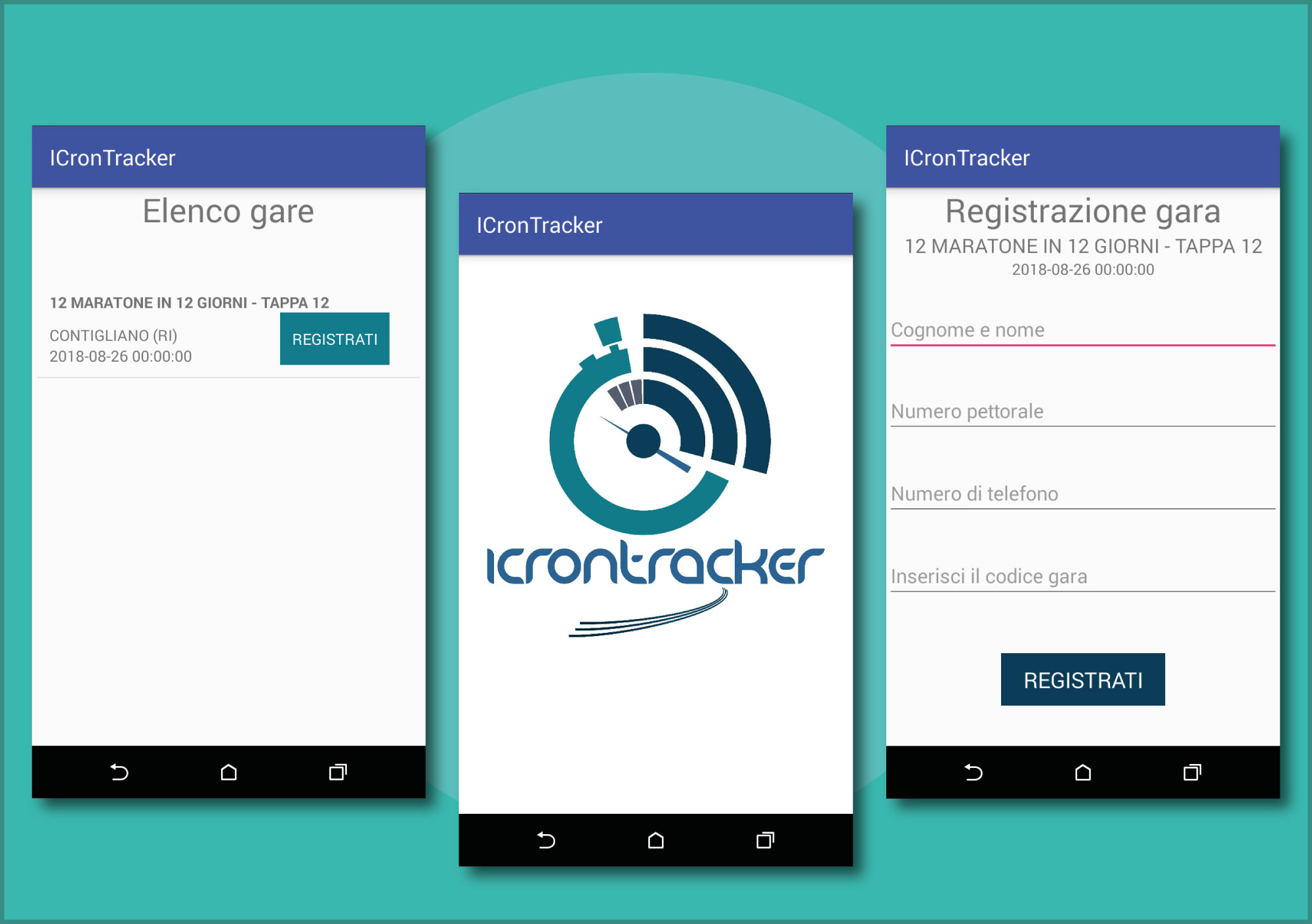 app android icrontracker