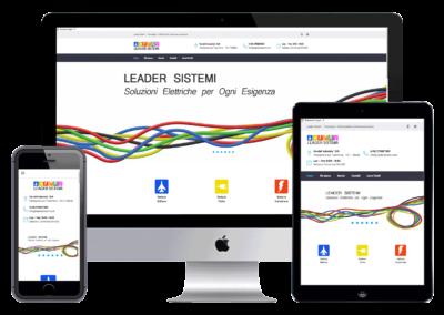 Realizzazione Sito Web Aziendale Leader Sistemi SrL