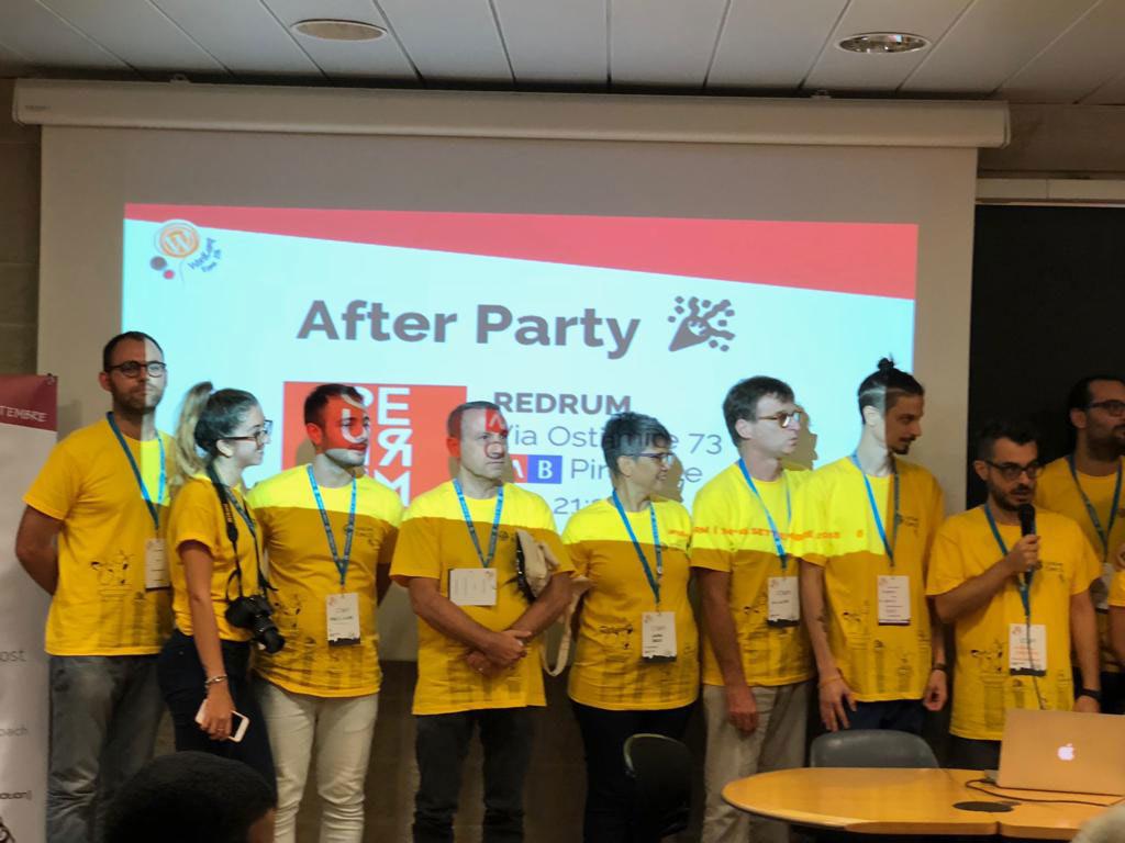 volontari 2 wordcamp roma 2018