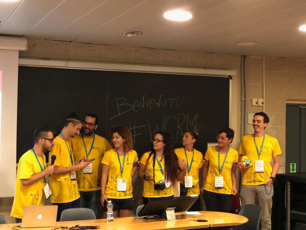 volontari wordcamp roma 2018