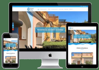 Realizzazione sito web Residence e Case Vacanza Verdeblusardo