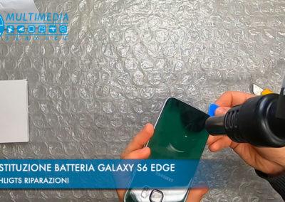 Sostituzione batteria su Samsung Galaxy S6 Edge